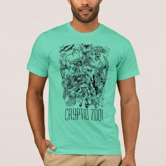 T-shirt Pièce en t de Mâche- de monstre de zoo de Cryptid