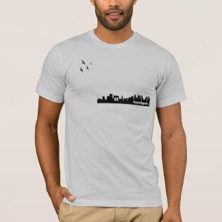 T-shirt Pièce en t de métropole de voyou