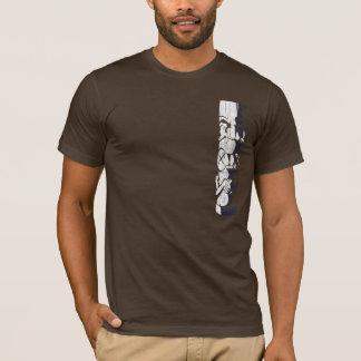 T-shirt Pièce en t de minuit de Kailua Tiki