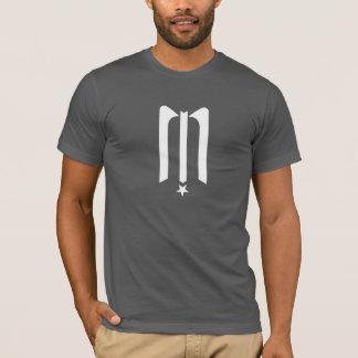 T-shirt Pièce en t de minuit de logo d'étoile