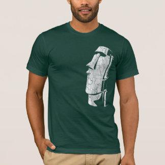 T-shirt Pièce en t de minuit de Moai Tiki