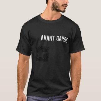 T-shirt Pièce en t de noir de l'avant-garde des hommes