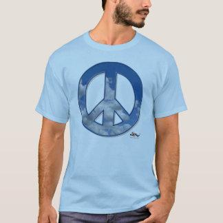 T-shirt Pièce en t de paix de ciel