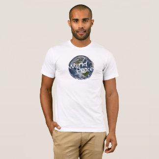 T-shirt Pièce en t de paix du monde