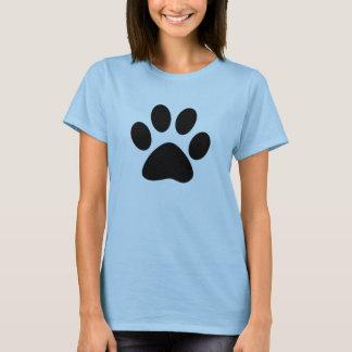 T-shirt pièce en t de pawprint