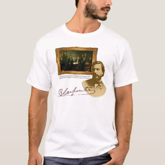 T-shirt Pièce en t de peintre de Francis B. Carpenter Abe