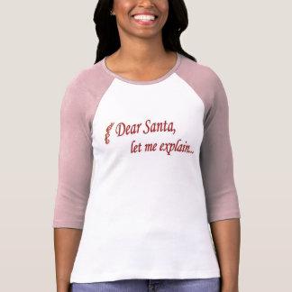 T-shirt Pièce en t de Père Noël