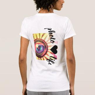 T-shirt pièce en t de photo♥life