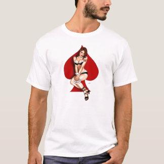 T-shirt Pièce en t de pin-up de fille