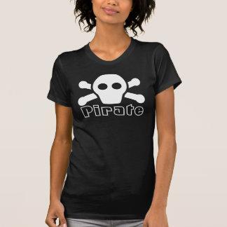 T-shirt Pièce en t de pirate pour des femmes - chemise
