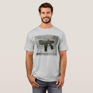 T-shirt Pièce en t de pistolet de point