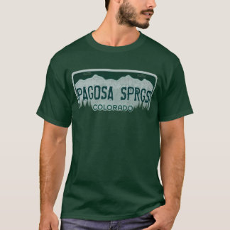 T-shirt Pièce en t de plaque minéralogique de types de