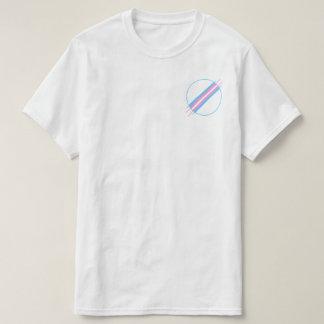 T-shirt Pièce en t de poche de fierté de transport