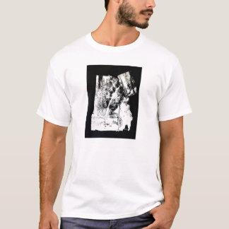 """T-shirt Pièce en t de pochoir du """"sanctuaire"""" des hommes"""