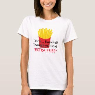 T-shirt Pièce en t de pommes frites
