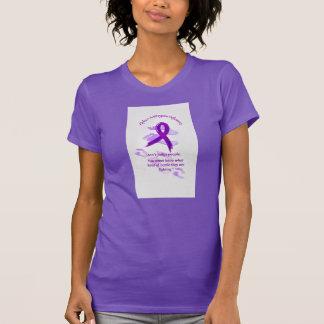 T-shirt Pièce en t de pourpre de álpha-1-antitrypsine