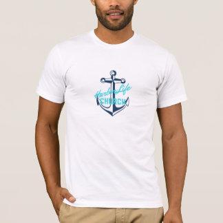 T-shirt Pièce en t de prime de la vie de port