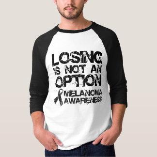 T-shirt Pièce en t de raglan d'Awarness du mélanome des
