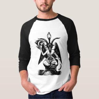 T-shirt Pièce en t de raglan de SNZ Baphomet