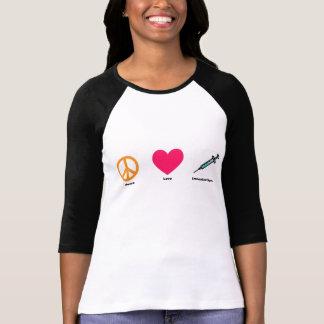 T-shirt Pièce en t de raglan d'immunisation