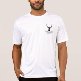 T-shirt Pièce en t de ranch de crique des cerfs communs