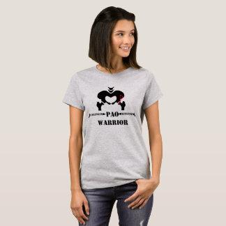 T-shirt Pièce en t de récupération de guerrier de PAO