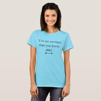 """T-shirt Pièce en t de récupération de PAO """"vous êtes plus"""