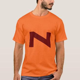 T-shirt Pièce en t de régression de bande dessinée de