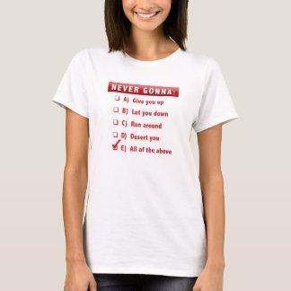 T-shirt Pièce en t de Rick Roll'd