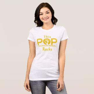 T-shirt Pièce en t de roche de bruits