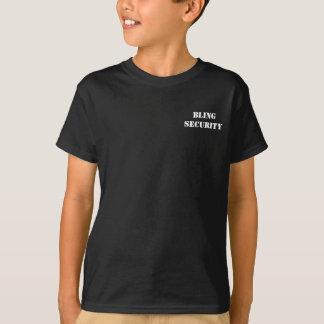 T-shirt Pièce en t de SÉCURITÉ de BLING