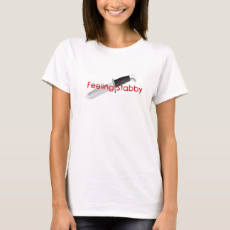 T-shirt Pièce en t de sensation de Stabby
