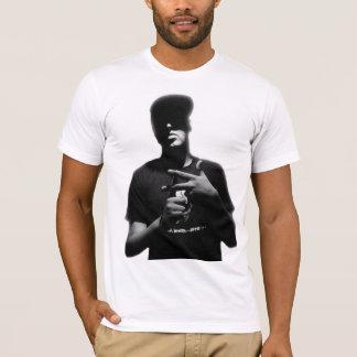 T-shirt Pièce en t de silhouette de Pavillion de flux