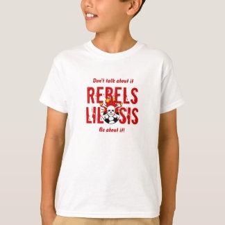 T-shirt Pièce en t de SIS de Lil de rebelles
