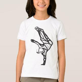 T-shirt Pièce en t de sonnerie de danse de hip hop