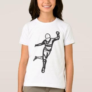 T-shirt Pièce en t de sonnerie de danse de robinet