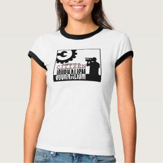 """T-shirt Pièce en t de sonnerie de """"journalisme de"""