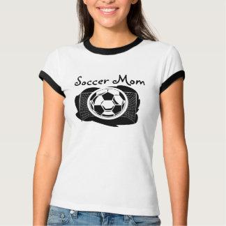 T-shirt Pièce en t de sonnerie de maman du football