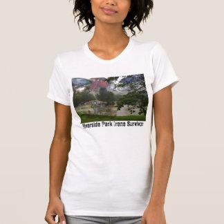 T-shirt Pièce en t de survivant de parc de rive