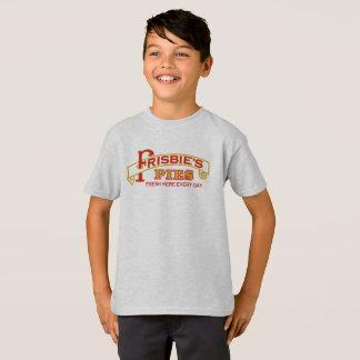 T-shirt Pièce en t de tartes de Frisbie d'enfants