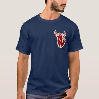 T-shirt Pièce en t de taureaux de Hackensacak