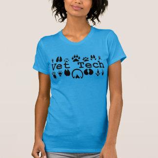 T-shirt Pièce en t de technologie de vétérinaire