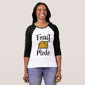 T-shirt Pièce en t de thanksgiving de mode de festin