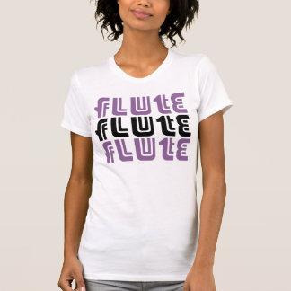 T-shirt Pièce en t de trio de cannelure