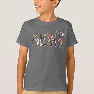 T-shirt Pièce en t de Tropicaloha d'enfants avec des îles