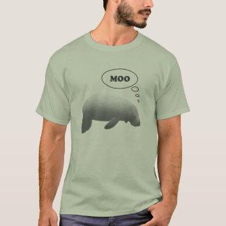 T-shirt Pièce en t de vache marine