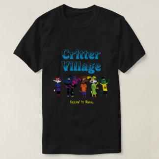 T-shirt Pièce en t de village de créature