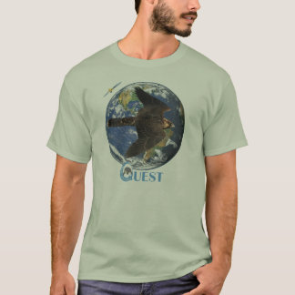 T-shirt Pièce en t de visite de recherche (lumière)