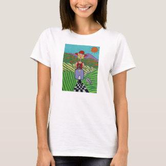 T-shirt pièce en t de vispa de sonoma