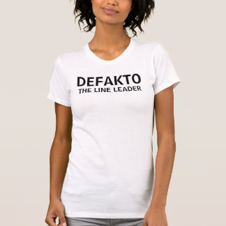 """T-shirt Pièce en t décontractée de scoop de """"DEFAKTO/LIGNE"""